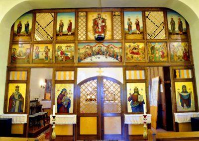 Kálmánháza, ikonosztázion